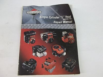 genuine briggs   stratton single cylinder l head repair Briggs and Stratton Model Numbers Briggs and Stratton Engine Troubleshooting