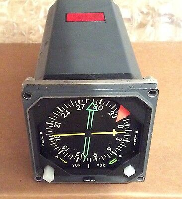 Collins RMI-30 indicator. Garmin GNS530, GNS430 also available