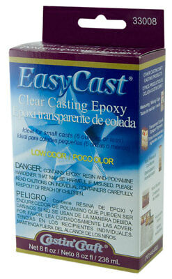 Castin Craft Easy Cast Clear Casting Epoxy Resin 8oz EasyCast 33008