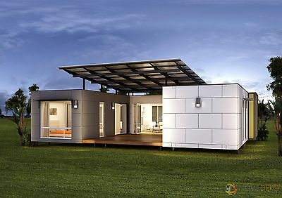 3 bedroom Portable Relocatable Container House Home Office Cabin Granny flat