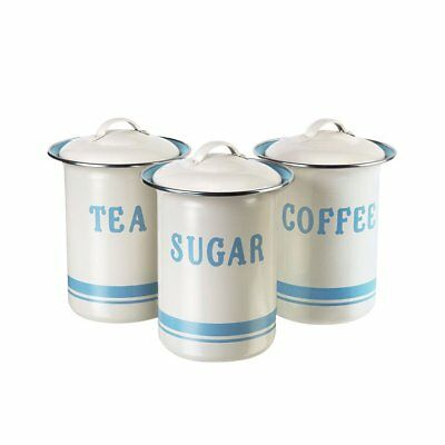 NEW Jamie Oliver Canister Gift Set of 3 (Tea Coffee & Sugar) (RRP $100)