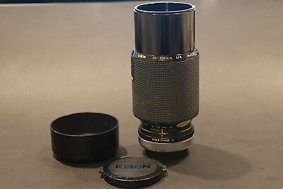 Kiron Canon FD Mount 70-210mm f4 zoom lens