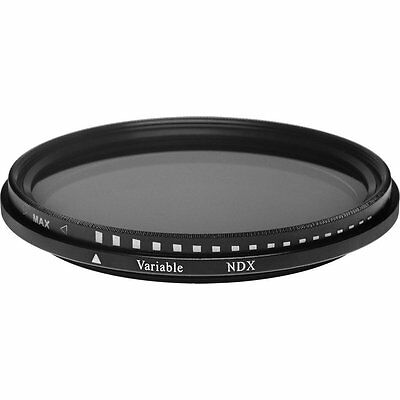 77mm Neutral Density Variable Fader NDX Filter ND2 to ND1000 VNDX-77