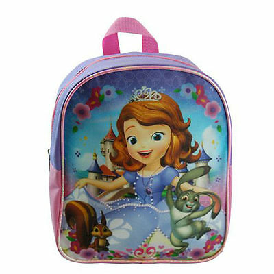 """Backpack 11"""" Disney Princesss Sofia The First Violet New"""