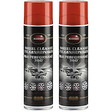 Autosol Wheel Cleaner 360 800ml (2x 400ml) Aerosol Motorcycle, Car, Vehicle