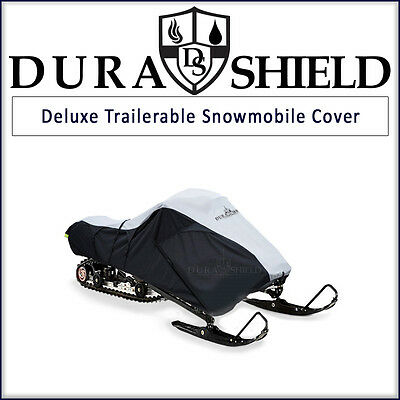 Polaris Deluxe Travel Snowmobile Cover Trailerable with Included Straps - Medium