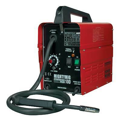 Sealey Professional No Gas/Gassless MIG Welder Repairer 100Amp 230V MIGHTYMIG100