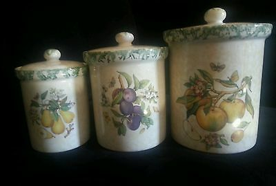 Himark Made in Italy Set of 3 Ceramic Canisters