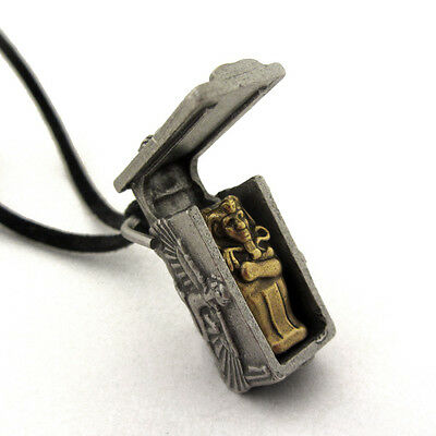 Ancient Egyptian Pharaoh Sarcophagus Egyptology Locket