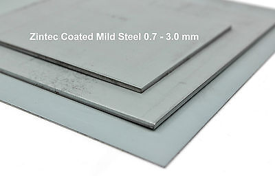 ZINTEC Coated Mild Steel Sheet - Car Repairs Trailer Sheet Metal DIY MIG Welder