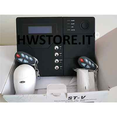 Kit allarme Antifurto gsm wireless Defender ST-V menu In Italiano 868 Mhz