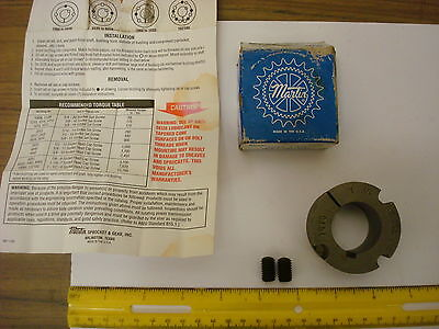 Martin Tapered Bushing 1610 1 1/4 (1610) *NOS* as pictured +