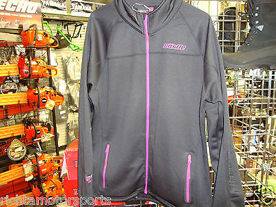 NEW CASTLE X  WOMEN'S FUSION MID-LAYER JACKET- BASE LAYER - 2XL- 78-2009 - BLACK