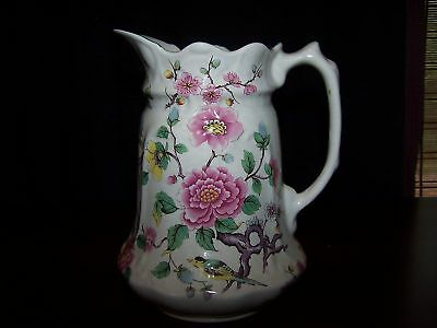 CHINESE ROSE BY JAMES KENT OLD FOLEY 32 OZ PITCHER