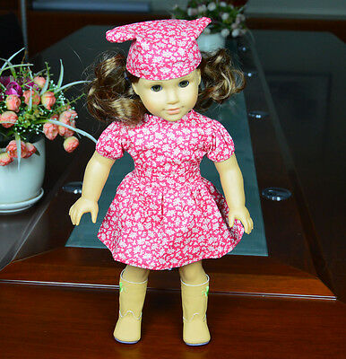 2014 Doll Clothes fits 18'' American Girl Handmade Colonial Pattern Dress/Gown