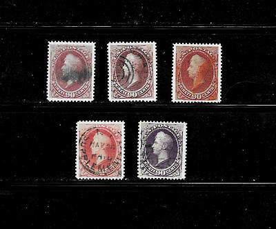 Reproductions of 144, 155, 166, 191, 218 Rare US Stamps *Fakes 008