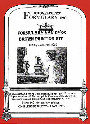 Formulary Van Dyke Brown Printing Kit 07-0080