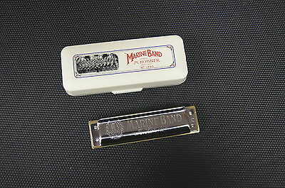 Harmonica diatonique Hohner Marine Band tonalités majeures / all major keys