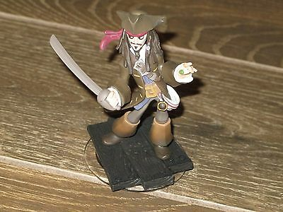 DISNEY INFINITY JACK SPARROW PIRATES OF THE CARIBBEAN *LOOSE FIGURE ONLY*