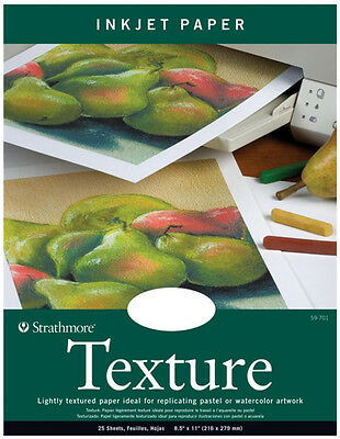 Strathmore Texture Inkjet Textured Paper Pastel Watercolor Artwork Reproductions