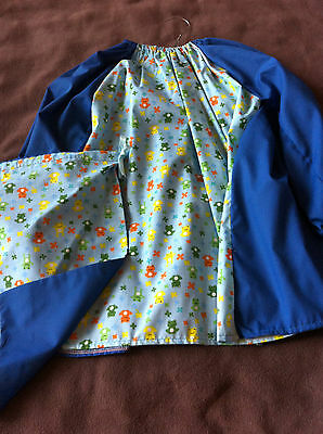 Art Smock/library Bag Set - *embroidered First Name Free!*