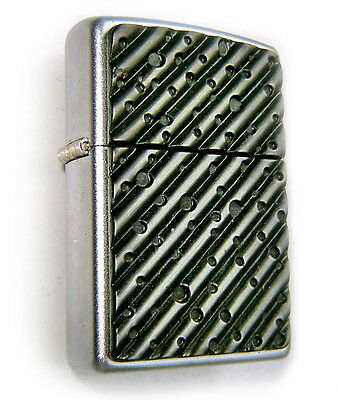 Zippo Beautiful LEAKED ROOF-HOLES 3D MassivePlate Edition SUPER RARE Collectible