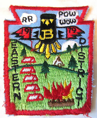 Eastern District 1979 Pow Wow Jb Rr Royal Ranger Uniform Patch