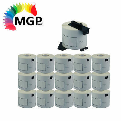 15+1 Rolls Compatible DK-22205 BROTHER White Continuous Labels – 62mm X 30.48m
