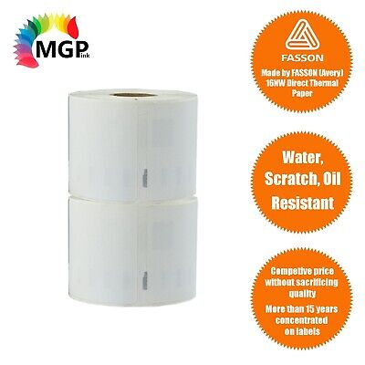 2x Rolls of Quality 11354 label 57mm x 32mm/1000 Per Roll for Dymo labelWrite