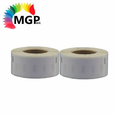 2x Rolls of Quality 99017 label 50mm x 12mm/220 Per Roll for Dymo labelWriter