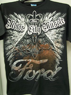 Ford Motor City Muscle T Shirt (New)