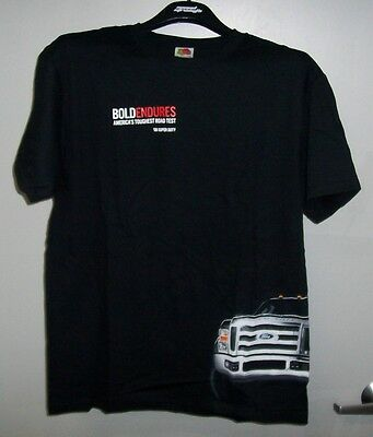 Ford Endures Built Ford Tough 08 Super Duty T Shirt (New)