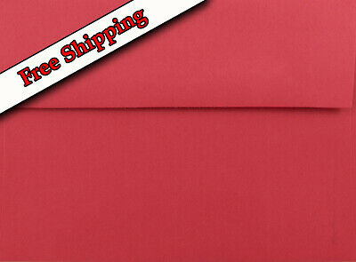 A7 ENVELOPES for 5X7 Cards Invitation Announcements Red - Astrobrights & More.