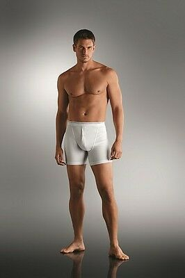 JOCKEY Mens Modern Classic Boxer Trunk Button Fly 2pk White or Black Size S-2XL