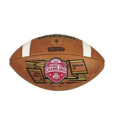 F1008  The 2015 Wilson Officialnational Championship Ball For Ohio State