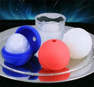 6cm Diameter Big Size Silicone Ball Shape Ice Ball Maker Mold Mould Whiskey Ice