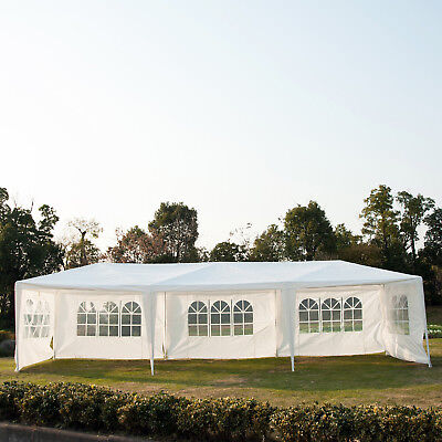 10' x 30' Party Canopy / Wedding Tent Marquees Gazebo with 5 Removable Walls