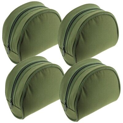 4 x New Green Fishing Reel Cases For Coarse Carp Fishing Reels Tackle NGT