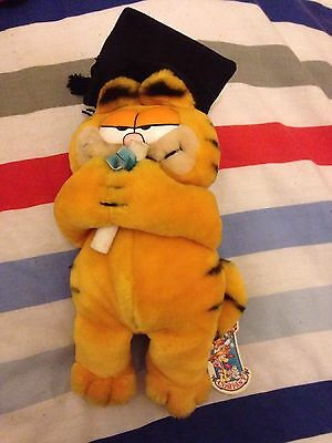 Vintage Garfield - Gratuation With Tag
