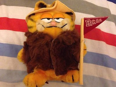 Vintage Garfield - BCOC With Coat Rare Item