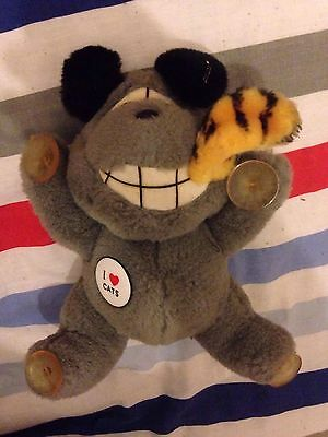 Vintage Garfield Style Dog Stuck On You Dog Eatern 'Garfield' Unoffical Item Fun