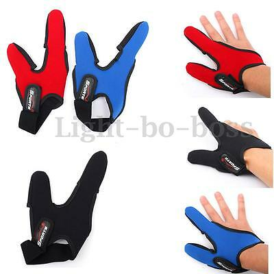 1PC Fishing Finger Two-Finger Protector Elastic Single Casting  Right-Hand Glove