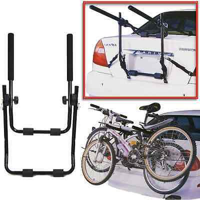 2 Bicycle Bike Car Cycle Carrier Rack Universal Fitting Saloon Hatchback Estate
