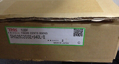 NIB THK SHS25C2SSE+940L-II LINEAR GUIDE RAIL NEW (for one rail 2 blocks)