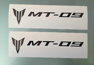 MT-09 / MT09 Fairing Decals / Stickers (PAIR) (Any Colour)
