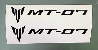 MT-07 / MT07 Fairing Decals / Stickers (PAIR) (Any Colour)