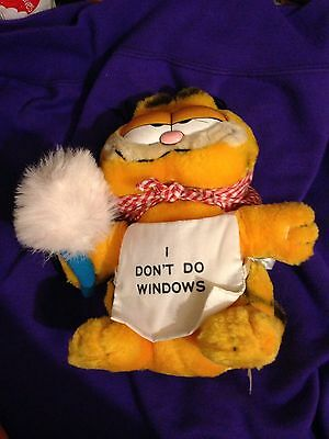 Garfield I Dont Do Windows! Rare And Lovely 1990's