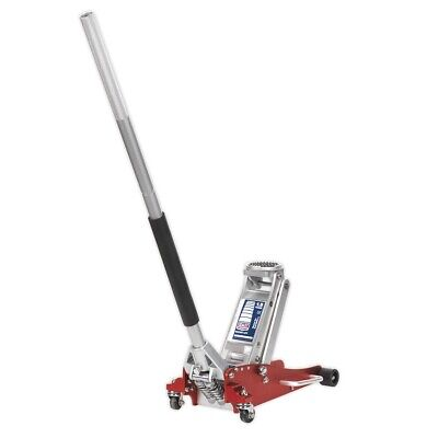 Sealey Trolley Jack 1.5tonne Low Entry Aluminium Rocket Lift/Lifting - RJA1550