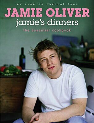 Jamie's Dinners by Oliver, Jamie Hardback Book The Cheap Fast Free Post