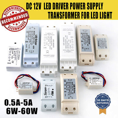 Perfect with LED MR16S LED Driver Power Supply Transformer 12V DC UK STOCK